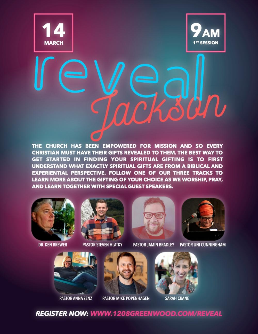 Reveal Jackson